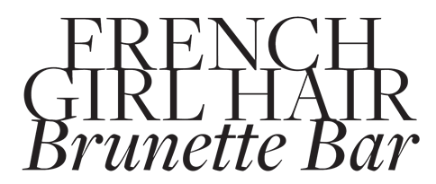 French Girl Hair Logo
