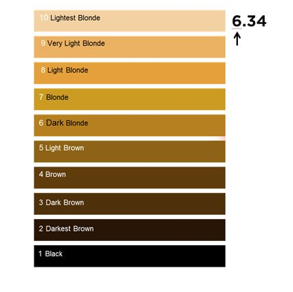 Hair Colour Numbering System Loréal Professionnel