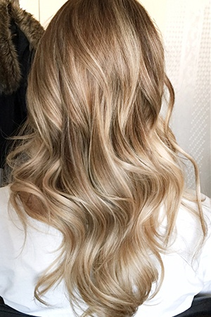 French Balayage In Two Steps