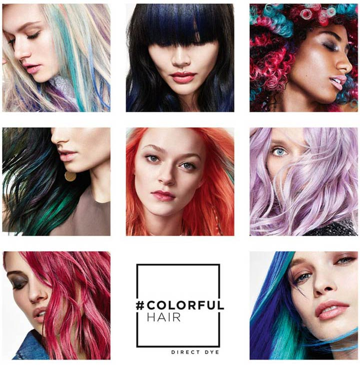 Colourful Hair Loral Professionnel