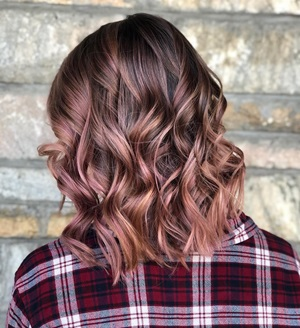 Rose Gold Hair Trend Inspiration