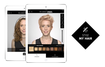 Style My Hair Virtual Hair Makeover Loral Professionnel