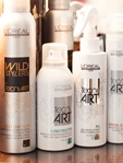 Collection of tecni art styling products