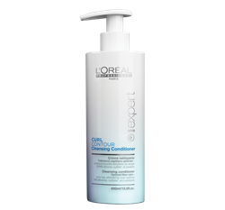 bottle of curl contour cleansing conditioner
