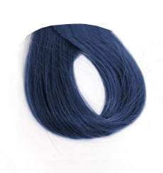 Swatch image of dark blue hair