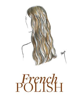 dessin montrant français polonais de la couleur des cheveux