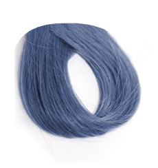 Swatch image of medium blue denim hair