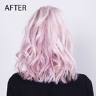 pink hair after loreal smartbond